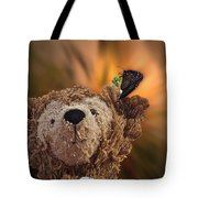 Landing Pad Bear Tote Bag