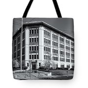 Landmark Life Savers Building II Tote Bag by Clarence Holmes