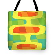 Abstract Pods Tote Bag