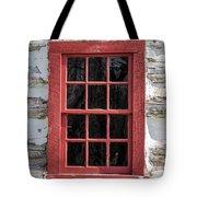 Landow Cabin Window Tote Bag