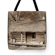 Landow Log Cabin 7d01723b Tote Bag