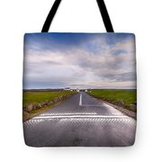 Lands End Start And Finish Line Tote Bag