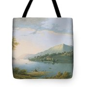 Landscape Along The Rhine Tote Bag