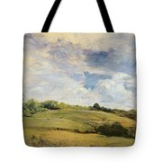 Landscape And Clouds  Tote Bag