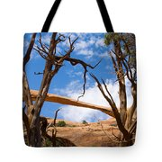 Landscape Arch - Arches National Park Tote Bag