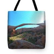 Landscape Arch 2 Tote Bag