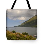 Landscape Around Killary Harbour Tote Bag
