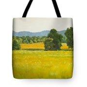 landscape art print oil painting for sale Fields Tote Bag