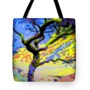 Landscape Art Tree Life Tote Bag