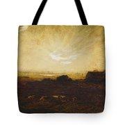 Landscape At Sunset Tote Bag