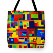 Landscape Buildings Tote Bag