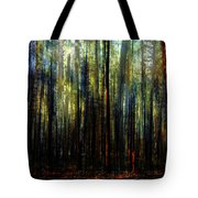Landscape Forest Trees Tall Pine Tote Bag