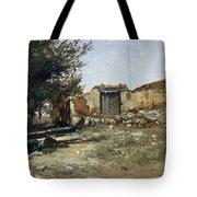 Landscape In Aragon Tote Bag