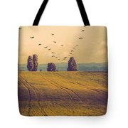 Landscape In France Tote Bag