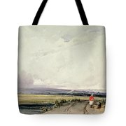 Landscape In Normandy, Traditionally Tote Bag