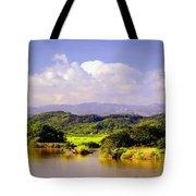 Landscape In Puerto Rico. Tote Bag