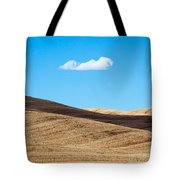 Landscape In Summer Tuscany Italy Tote Bag