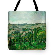Landscape In The Ile-de-france Tote Bag