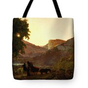 Landscape Tote Bag by Joseph Wright of Derby