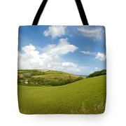 Landscape Near Hallsands In Devon Gb Tote Bag