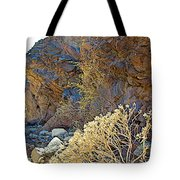 Landscape Of Big Painted Canyon Trail In Mecca Hills-ca Tote Bag