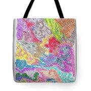 Landscape Of Color Tote Bag