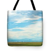 Landscape Of Denver Colorado Tote Bag