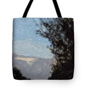 Landscape Of Fall Tote Bag