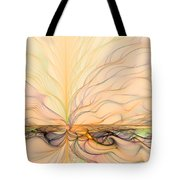Landscape Of Fantasy Tote Bag