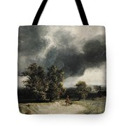 Landscape On The Outskirts Of Paris Tote Bag