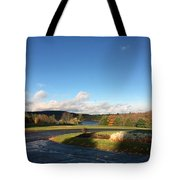 Landscape Skyview Early Morning Poconos Pa Usa America Travel Tour Vacation Peaceful Tote Bag