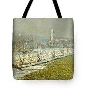 Landscape. Winter Sun Tote Bag
