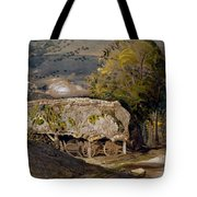 Landscape With A Barn, Shoreham, Kent Tote Bag