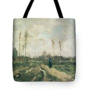 Landscape With A Church And Houses Tote Bag