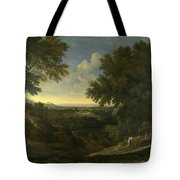 Landscape With Abraham And Isaac Tote Bag