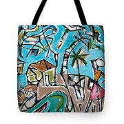 Landscape With Lavadeira Tote Bag