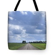 Landscape With Road Tote Bag