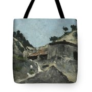 Landscape With Water Mill, C.1871 Tote Bag