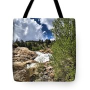 Alluvial Fan Colorado Tote Bag