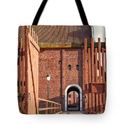 Landskrona Citadel In Sweden Tote Bag