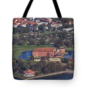 Landskrona Citadel Photographed From The Air Tote Bag