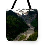 Landslides At Mount Rainier Tote Bag