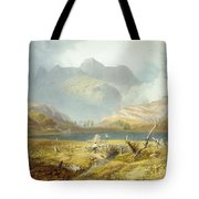 Langdale Pikes, From The English Lake Tote Bag