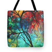 Languishing In The Breeze Original Art Madart Tote Bag