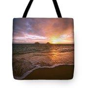 Lanikai Sunrise Tote Bag