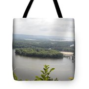 Lansing Bridge Panoramic Tote Bag
