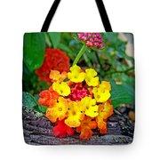Lantana Flowers 2 Tote Bag