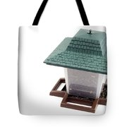 Lantern Bird Feeder Tote Bag