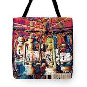 Lantern Chandelier 02 Tote Bag