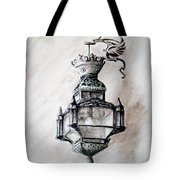Lantern In Broad Daylight Tote Bag